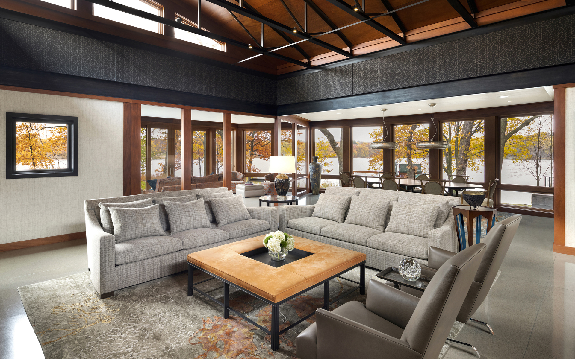 Living Room | Point Buckeye | White Bear Lake| Hagstrom Builder