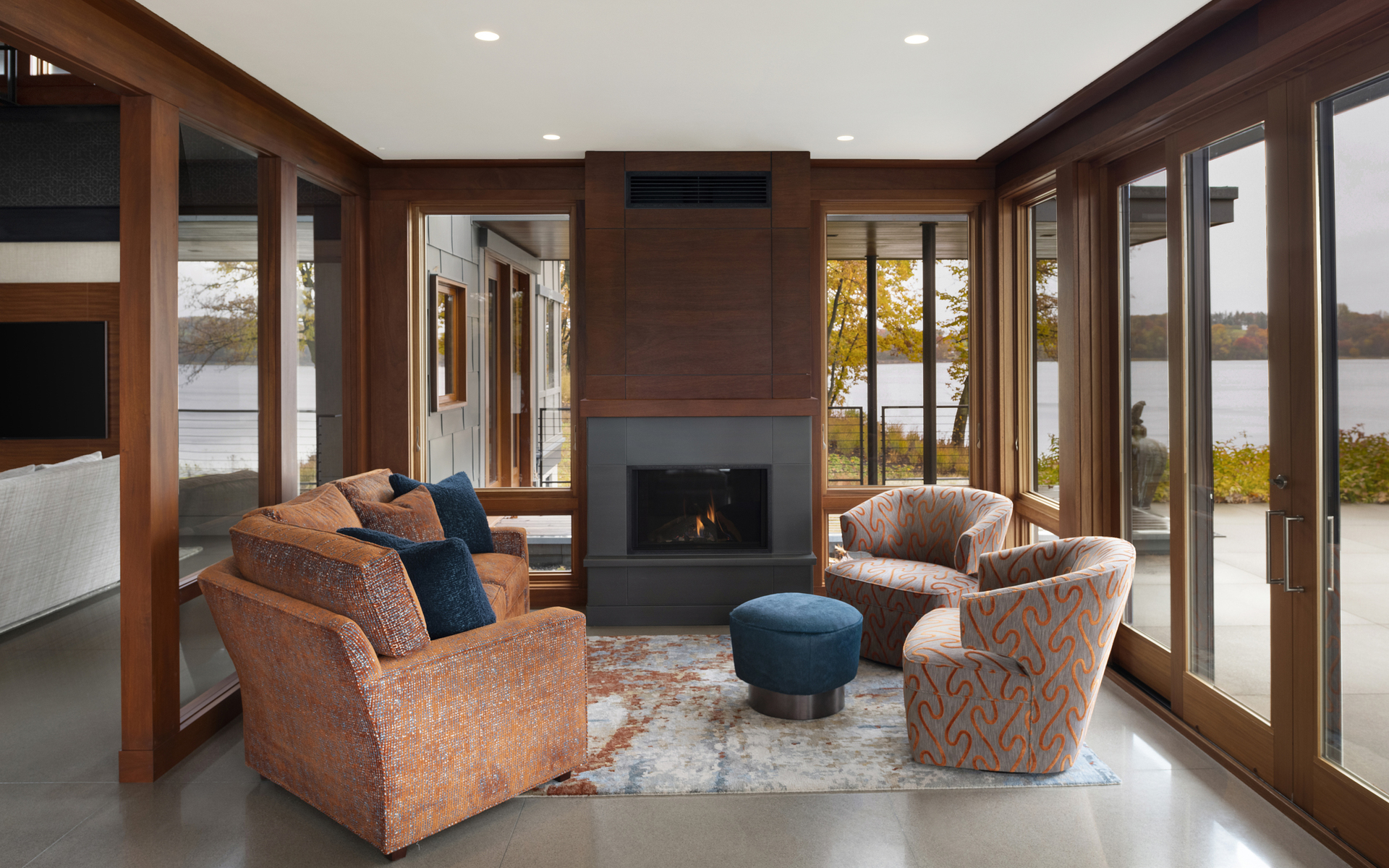 Sitting Area | Point Buckeye | White Bear Lake| Hagstrom Builder