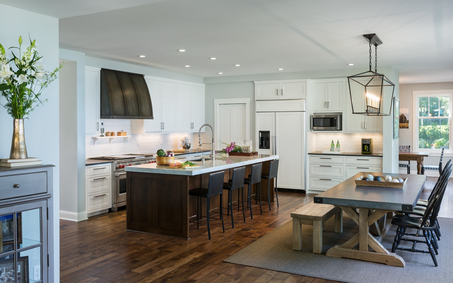 Kitchen | Urban Lake Cottage | White Bear Lake, MN| Hagstrom Builder